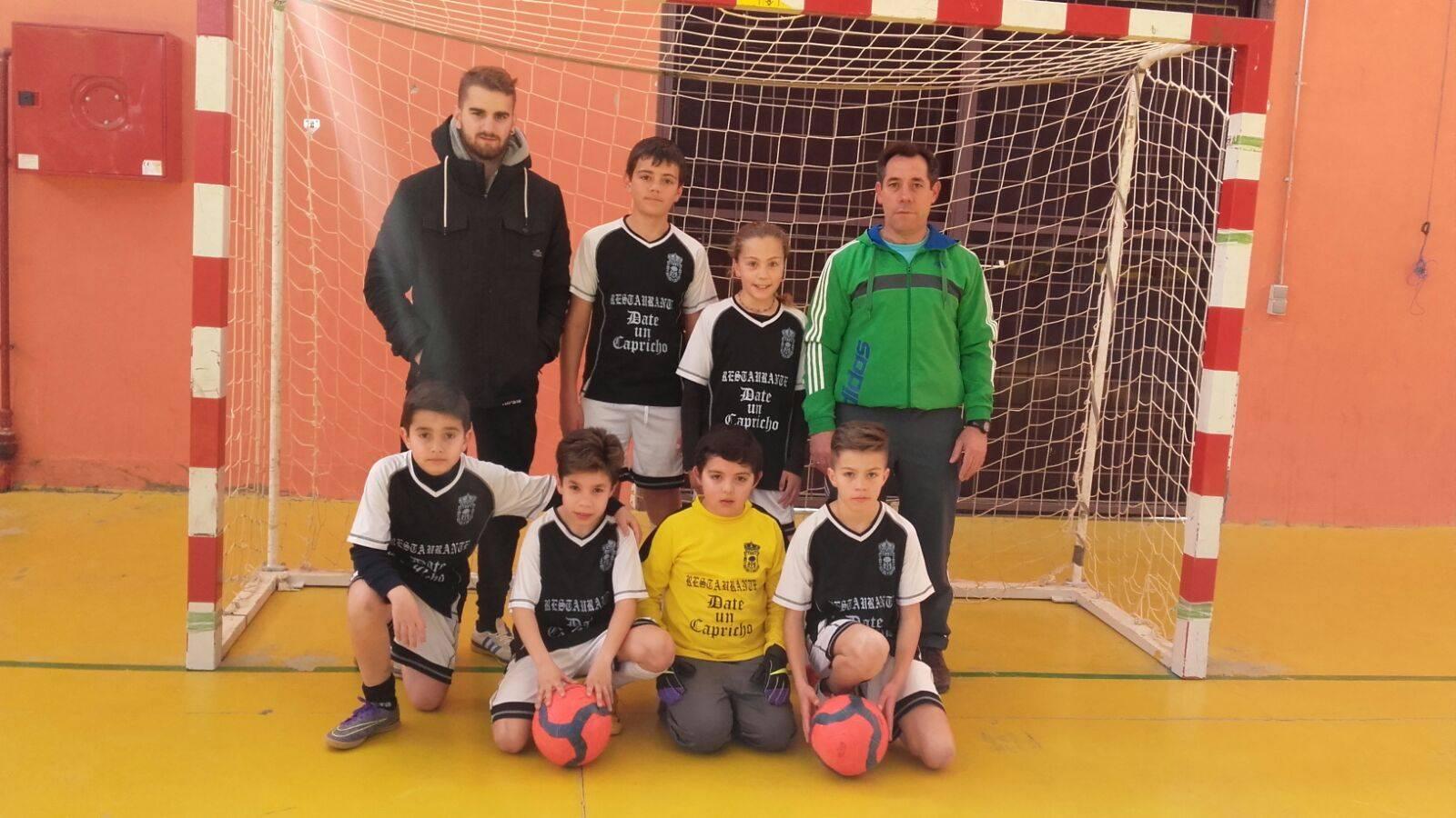 El equipo alevín de Cantalpino juega la fase provincial