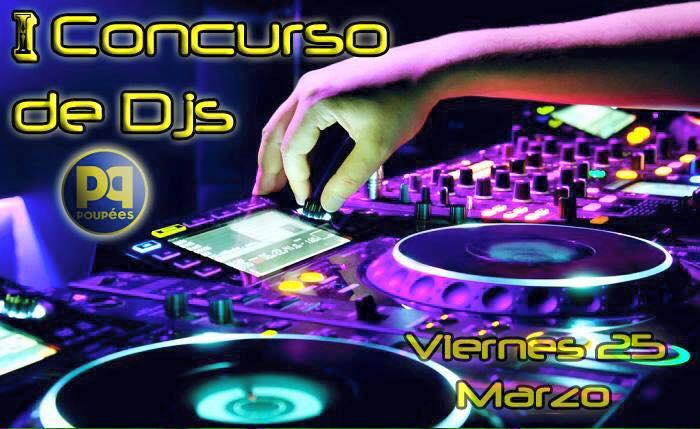 Concurso de deejays en discoteca Poupées