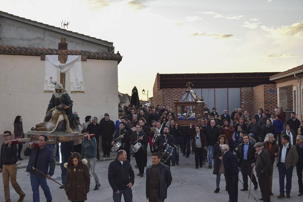 Tradición y devoción en la Semana Santa de Cantalpino