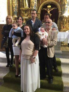 bautizo daniela y unai