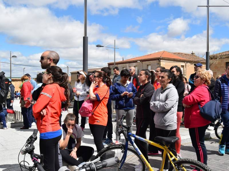 marcha solidaria y operación bocata cantalpino
