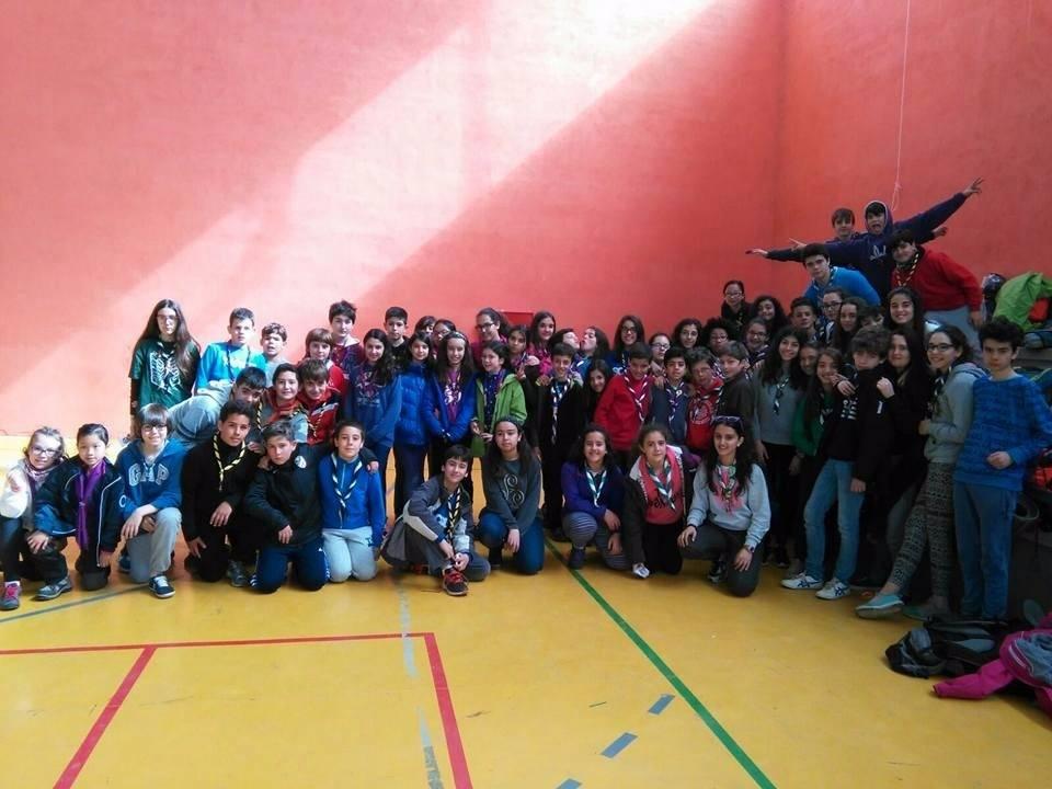 La asociación 'Movimiento Scout Católico' de Salamanca celebra San Jorge en Cantalpino