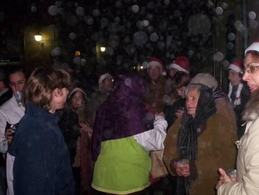 noche vieja en la plaza