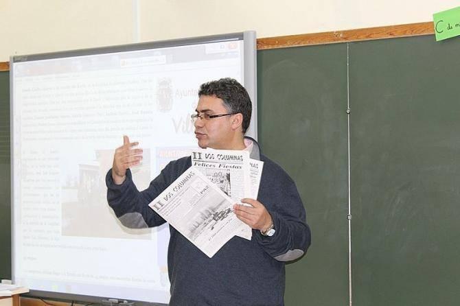 Taller periodismo CRA Eusebia Palomino Cantalpino Arabayona