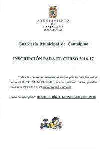 cartel-guarderia