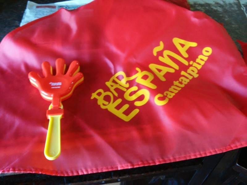 La Eurocopa se vive en el Bar España