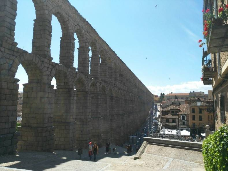 Excursion a Segovia mujeres junio