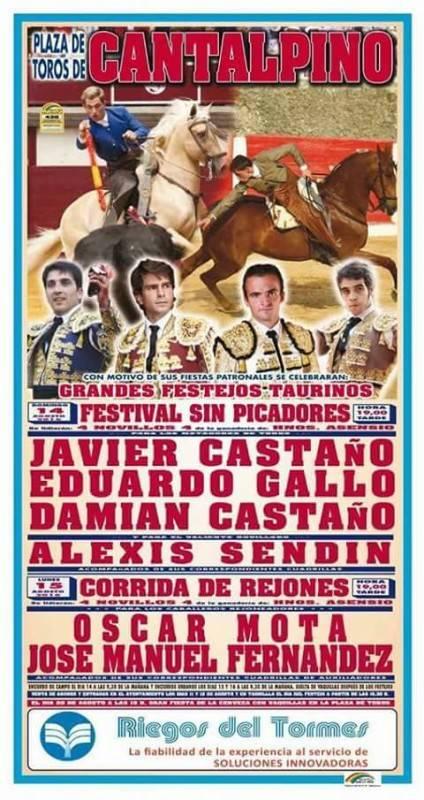 cartel toros cantalpino