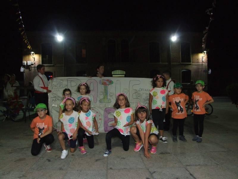 Sevillanas y baile moderno agosto 2016