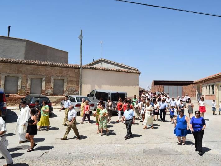 misa y procesion fiestas 2016