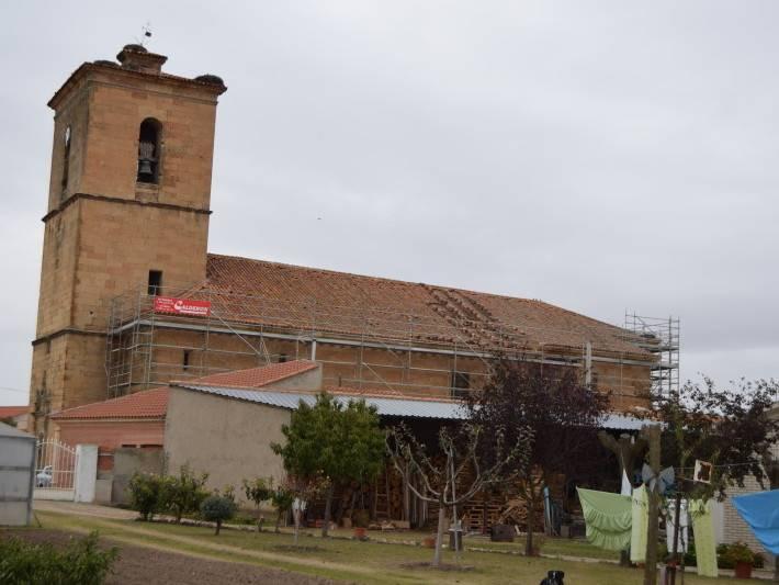 obras de la iglesia