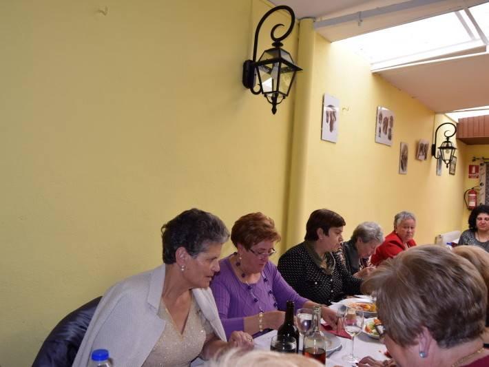 Comida asociación de mujeres