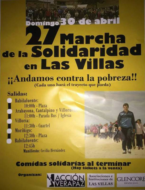 cartel marcha 2017