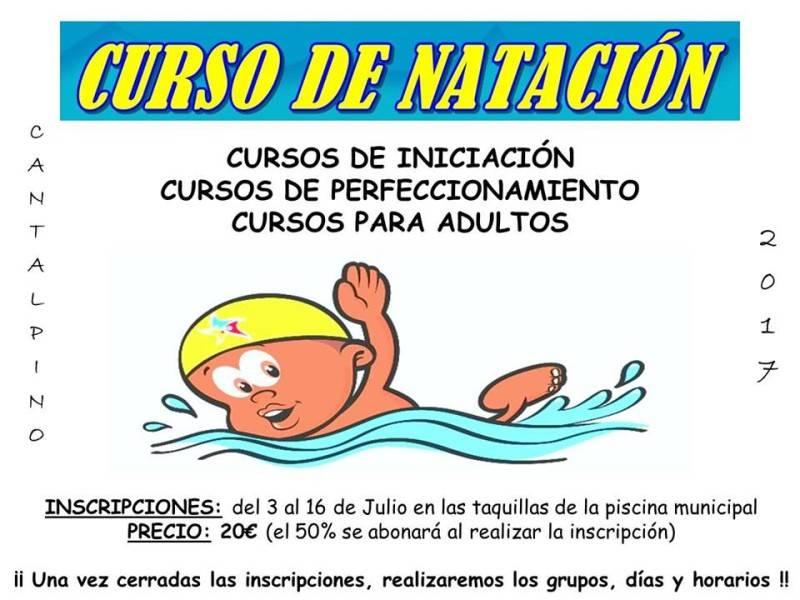CURSO NATACION 2017