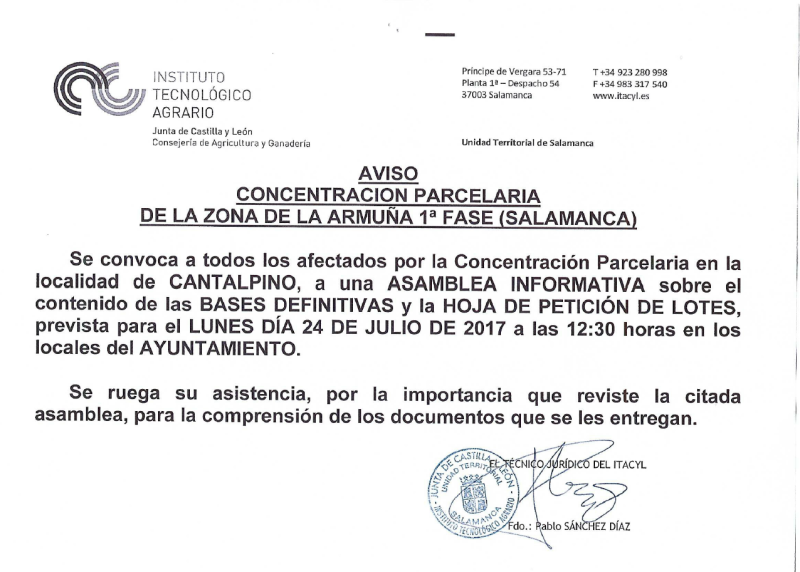 concentraccion parcelaria