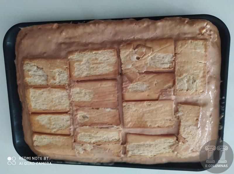 Rodriguez Roldan - Tarta de flan y galleta