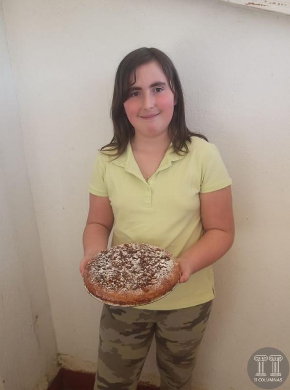Aurora Sanchez Barbero - Bizcocho de nata, chocolate y nueces