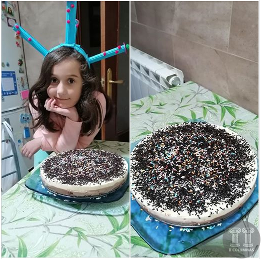 Cristina Gozalez Caceres- Tarta tres chocolates